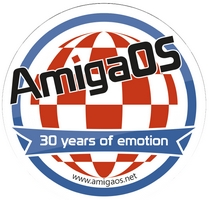 AmigaOS Free Sticker